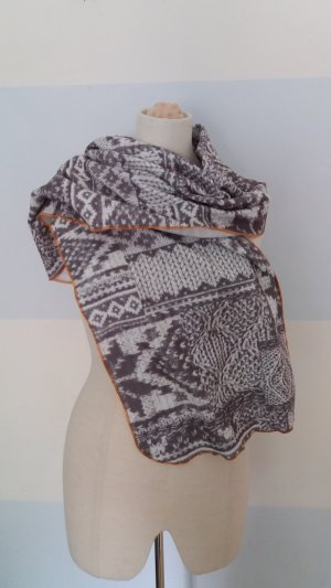 Bedruckter Fleece-Schal
