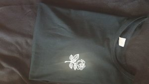 Shirt Body white-black