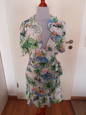 Bedrucktes Sommerkleid von Zara