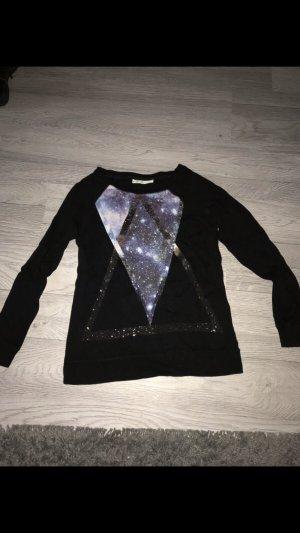 Clockhouse Fleece trui zwart