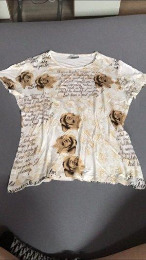 Bedrucktes T-Shirt in XL