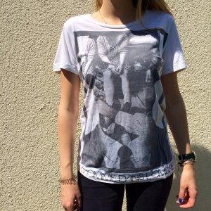 Bedrucktes T-Shirt von Mango in EUR S / D-USA XS