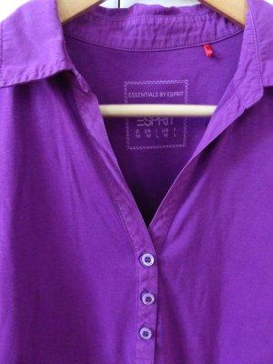 Esprit Polo violet coton
