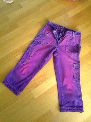 """Beeren-lilafarbene lässige 3/4-Jeans von """"Madoc"""", Gr. 38"""