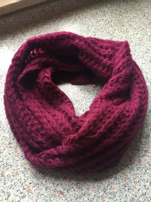 Écharpe ronde violet