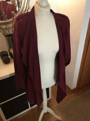 Zara Frock Coat blackberry-red-bordeaux