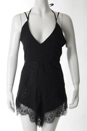 Beginning Boutique Jumpsuit schwarz klassischer Stil