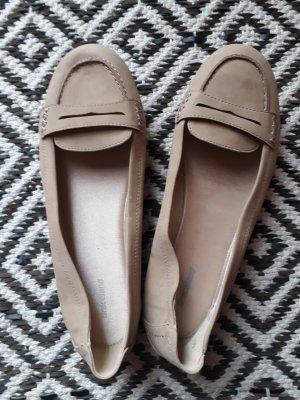 Beige Ballerinas/Flats/Loafer/Slipper