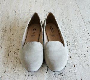 Beige Ballerinas/Loafer, Größe 42, 1 Mal getragen, keine Gebrauchsspuren!