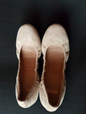 Beige Ballerinas von BRAX Gr. 38