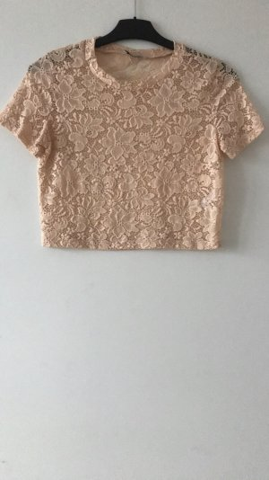 Zara Cropped Top nude