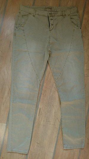 beige Baumwollhose Esprit, Gr. 42