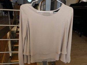 Beige Bluse von Zara