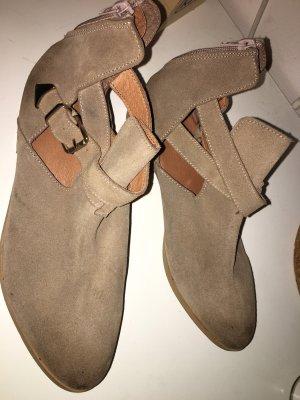 Chelsea Boots beige-camel