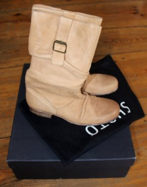 Boots sand brown leather