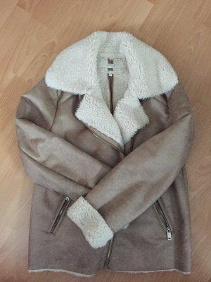 Beige/ braune Jacke von Opus in Größe 40