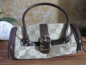 beige/braune Tasche mit Muster