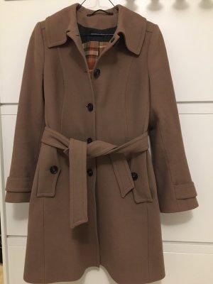 Beige-brauner Mantel