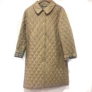 Beige Burberry Coat