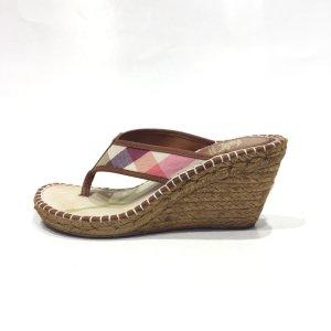 Burberry Espadrille sandalen beige