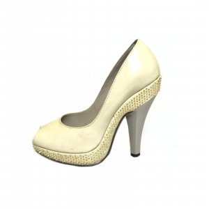 Burberry Sandalen met hoge hakken beige