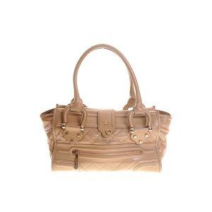 Beige Burberry Shoulder Bag