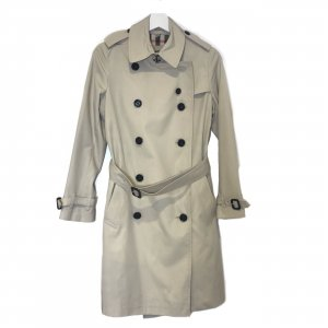 Beige Burberry Trench Coat