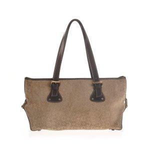 Beige Celine Shoulder Bag