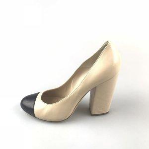 Beige Chanel High Heel