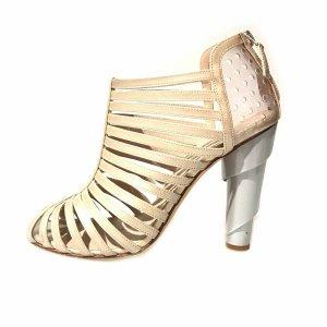 Chanel High-Heeled Sandals beige