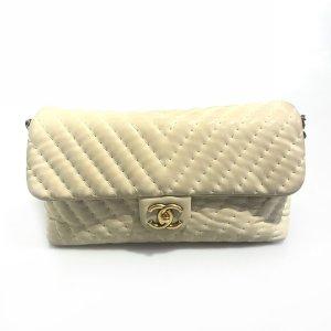 Chanel Borsa a tracolla beige