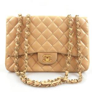 Beige Chanel Shoulder Bag