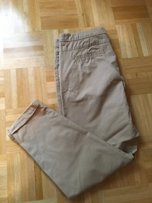 Beige Chinohose, 7/8 Hose, Sommer Chino