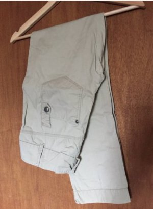beige Chinohose, Only