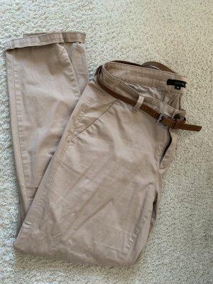 Comma Pantalon chinos beige-beige clair