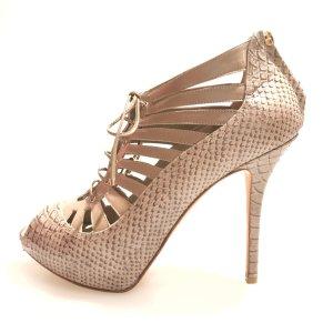Christian Dior High-Heeled Sandals beige