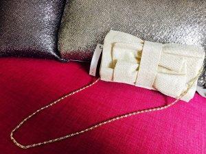 Beige Clutch mit langen Henkeln / neu mit Etikett