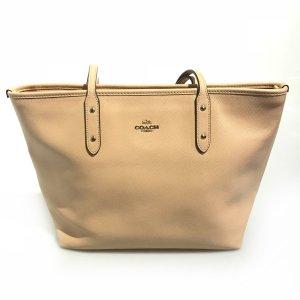 Beige Coach Shoulder Bag