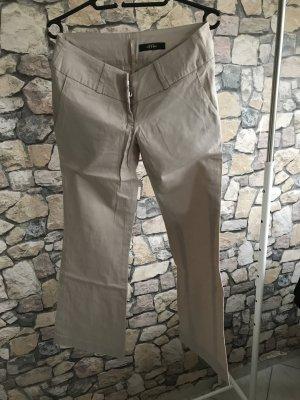 Beige/Creme Farbene Hose Größe S von Melrose