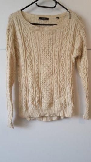 beige creme Pullover, Strickpullover Esprit