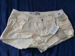Beige creme Shorts kurze Hose gr 44 Neu stylisch