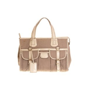 Beige Dolce & Gabbana Shoulder Bag