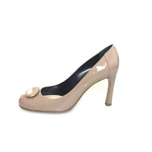 Emporio Armani High-Heeled Sandals beige