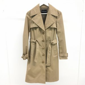 Beige Emporio Armani Trench Coat