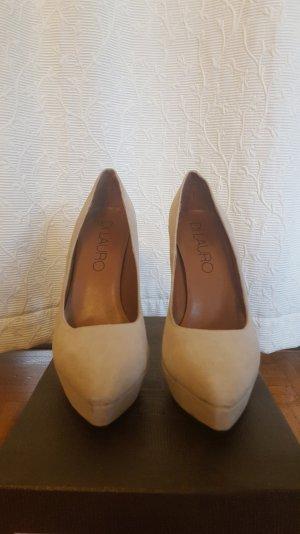 Beige farbene High Heels von Di Laurio (1x getragen)