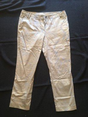 Airfield Pantalone a 7/8 beige chiaro-oro