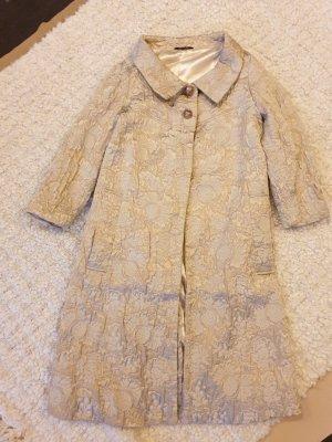 Short Coat multicolored mixture fibre