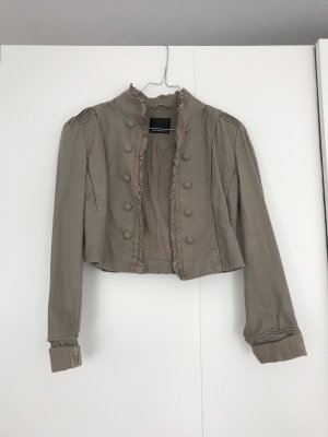Fishbone Bolero marrone-grigio