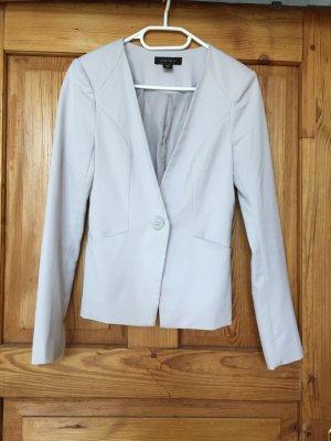 Amisu Blazer en jersey beige clair-gris clair