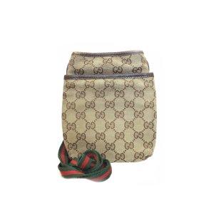 Beige Gucci Cross Body Bag